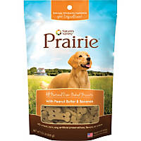 Nature's Variety Prairie Oven Baked Peanut Butter & Bananas Dog Biscuits