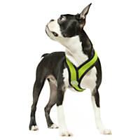 Gooby Choke Free Comfort X Soft Harness, Green