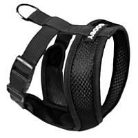 Gooby Choke Free Comfort X Soft Harness, Black