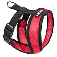 Gooby Choke Free Comfort X Soft Harness, Red