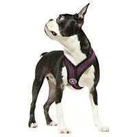 Gooby Choke Free Comfort X Soft Harness, Purple