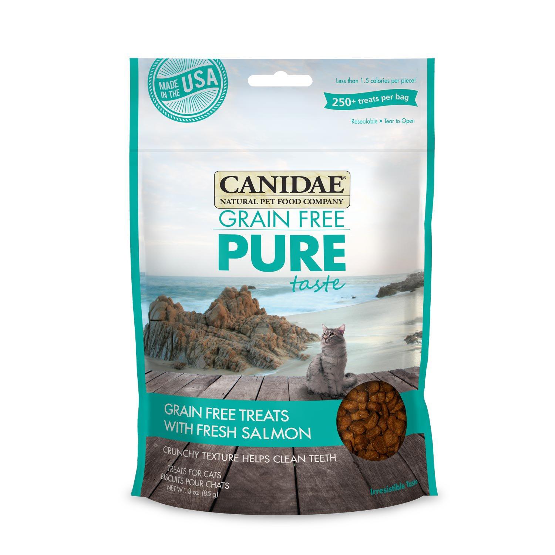 Canidae Grain Free Pure Taste with Fresh Salmon Cat Treats
