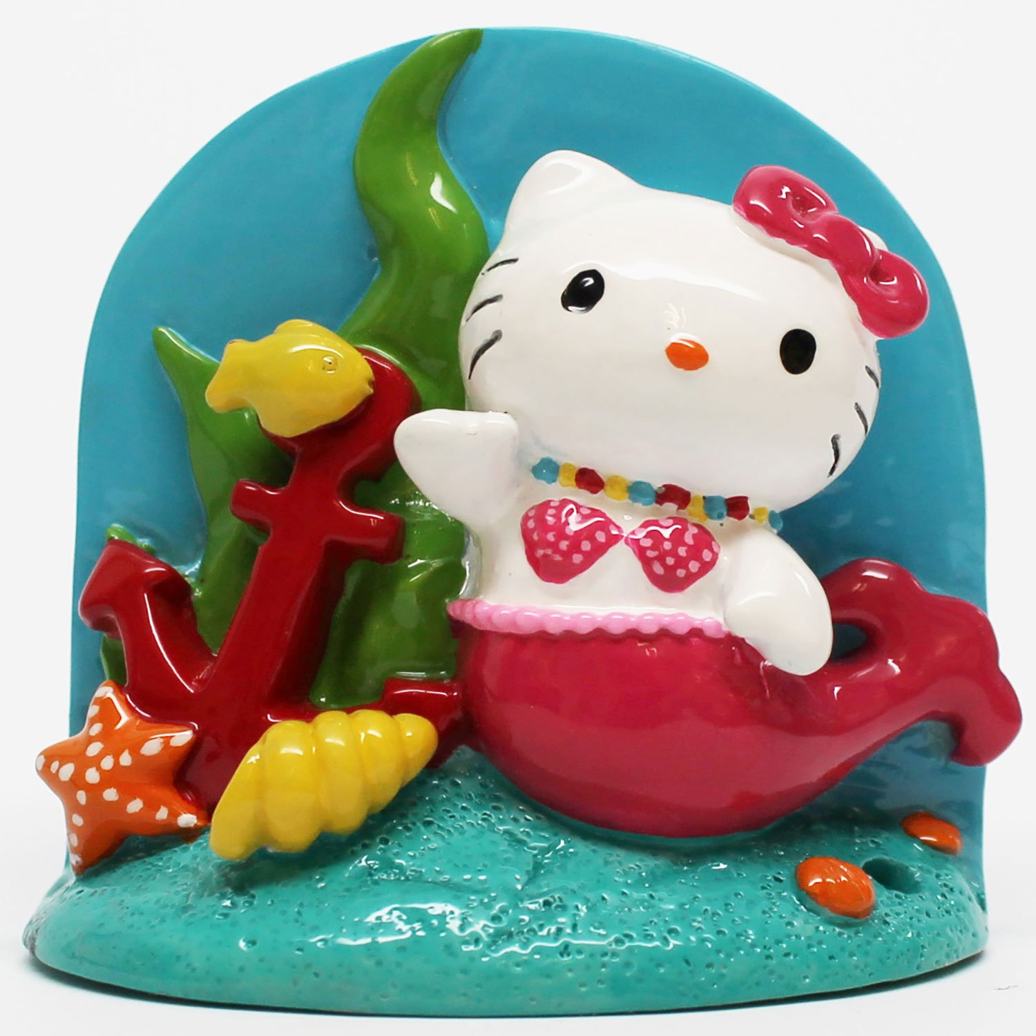 Hello Kitty Resin Aquarium Ornaments