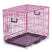 Be Good Appeal Color Pink Dog Crate