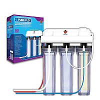 Coralife Pure Flo II Reverse Osmosis 3 Canister System