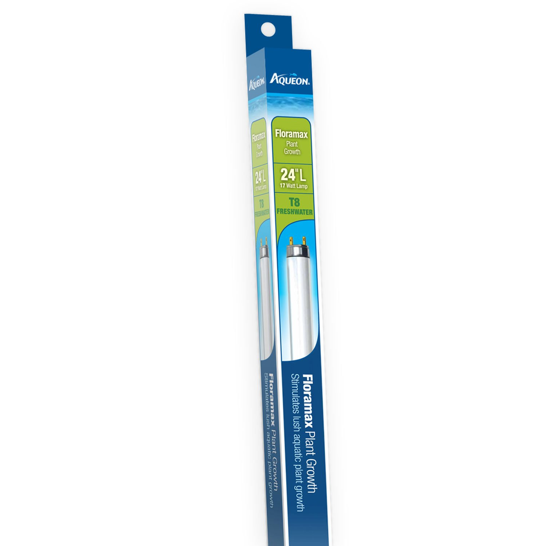 "Aqueon Floramax 17 Watts T8 Fluorescent Bulb, 24"" Length"