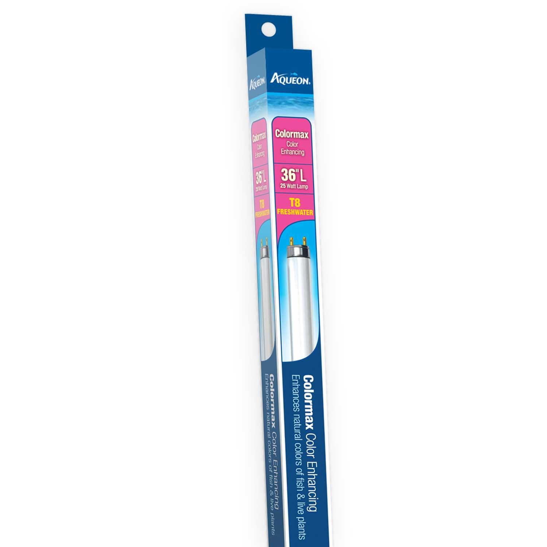 Aqueon Colormax T8 Fluorescent Bulb, 25 Watts