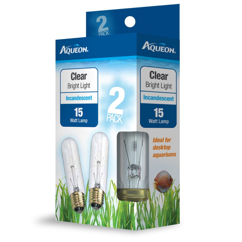 Aqueon Clear Incandescent Bulb, 15 Watts