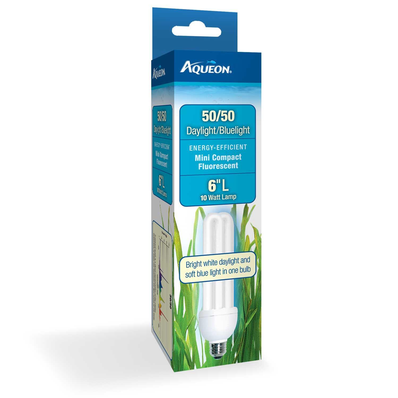 Aqueon 50/50 Mini Compact Fluorescent Bulb, 10 Watts