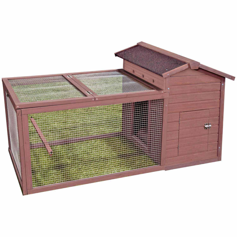 WARE Hen Hut with Yard Chicken Coop