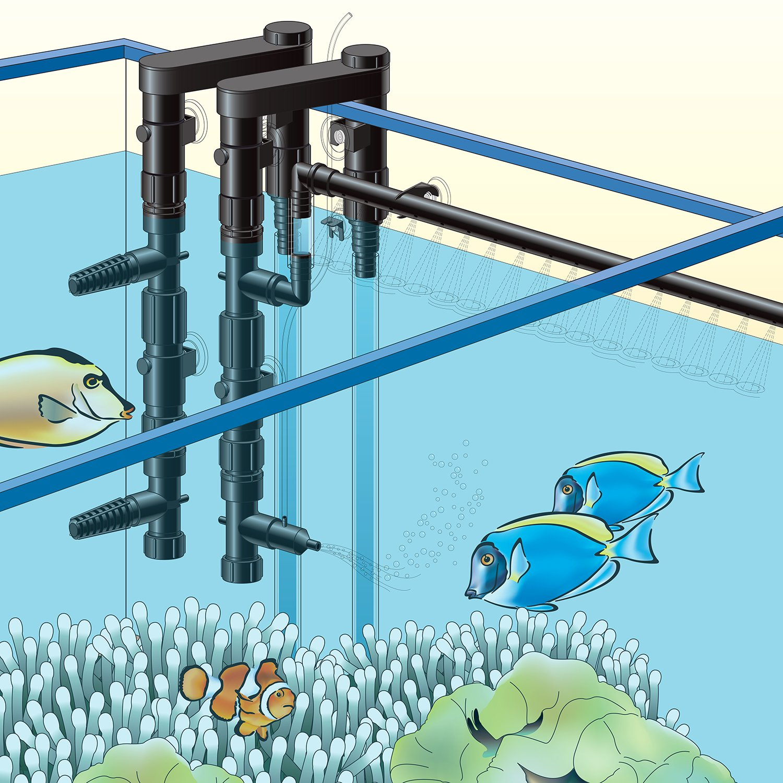 Lifegard Aquatics Customflo Water System Complete Kit