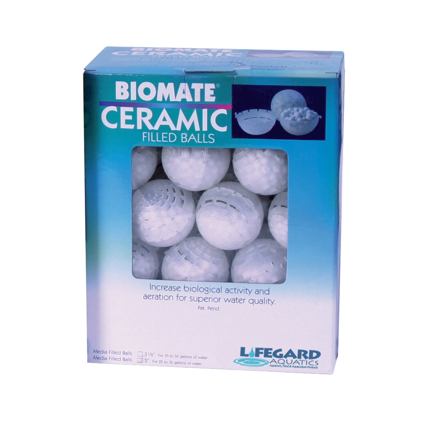 Lifegard Aquatics Bio-Mate Ceramic Refillable Media Balls