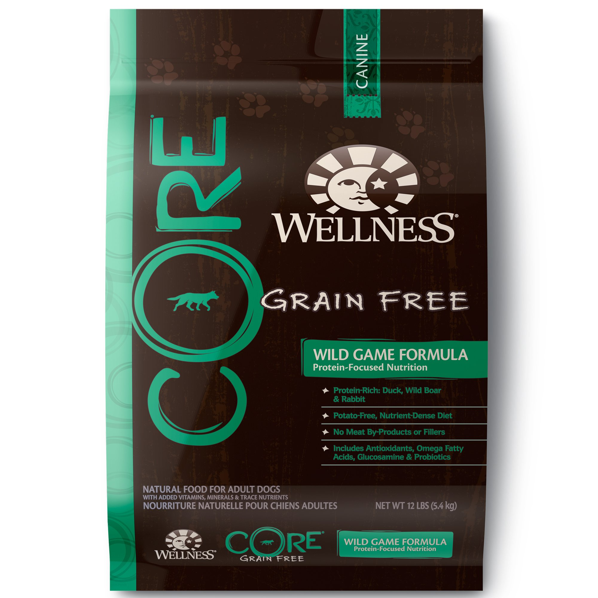 Wellness Core Grain Free Wild Game Adult Dog Food Petco
