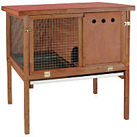 WARE HD Deluxe Rabbit Hutch