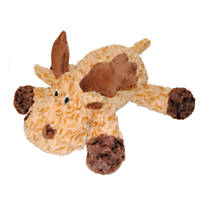 Patchwork Pet Swirl Moose Dog Toy