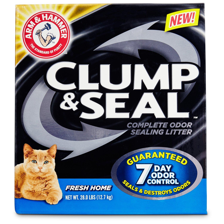Arm & Hammer Clump & Seal Complete Odor Sealing Cat Litter