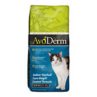 AvoDerm Natural Indoor Weight Control with Hairball Care Adult Cat Food