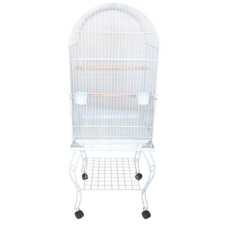 YML Dometop White Bird Cage