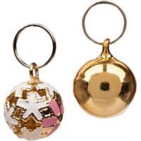 Bond & Co Solid Metallic Collar Bells, 2-Pack