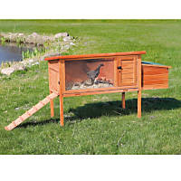 Trixie Natura Hinged Roof Chicken Coop