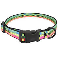 Bison Pet Rad Adjustable Nylon Dog Collar