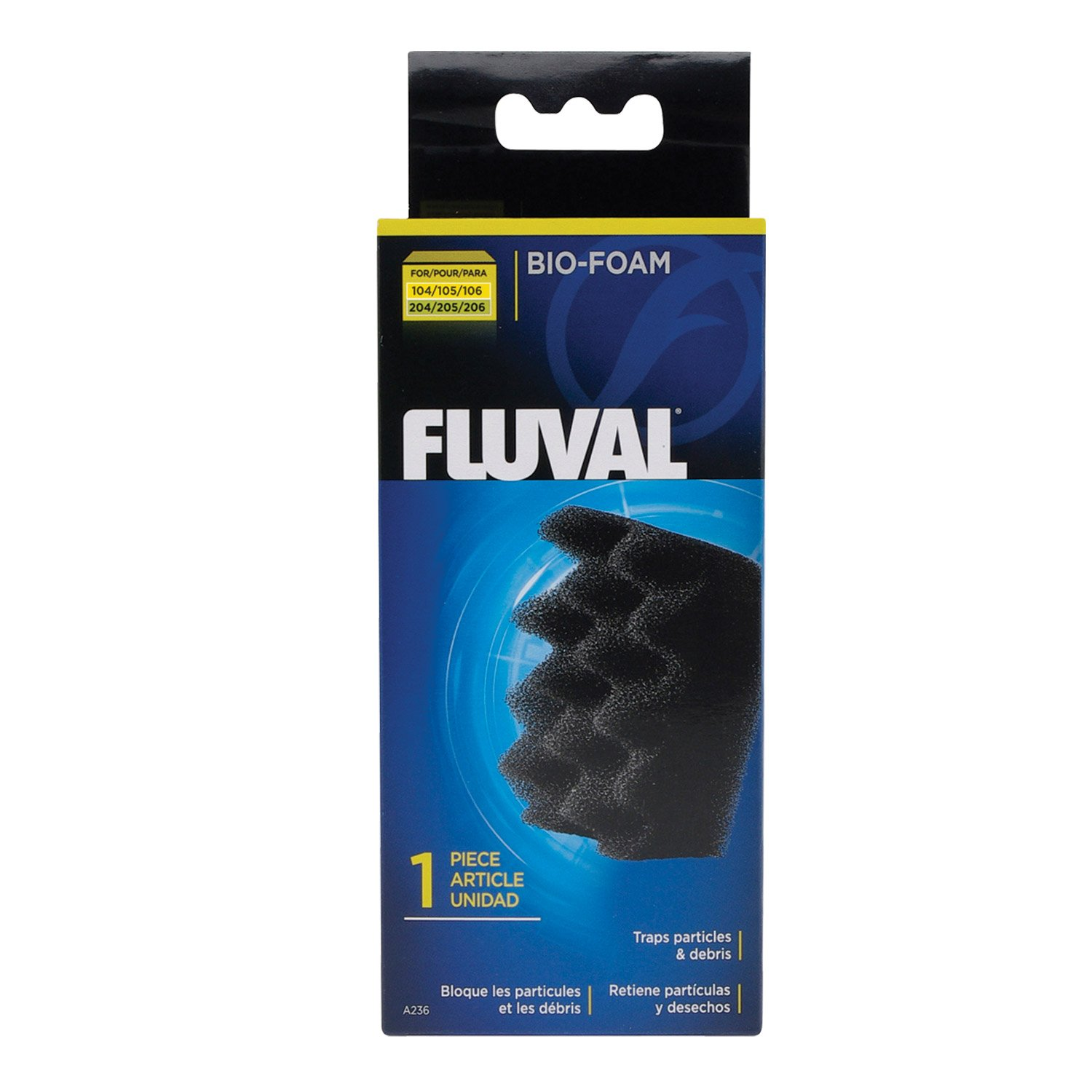 Fluval Bio-Foam Inserts, for 104-106 & 204-206 Canister Filters