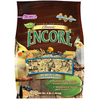 Brown's Encore Classic Cockatiel Food