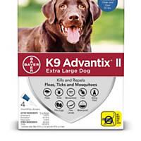 K9 Advantix II Topical Extra Large Dog Flea & Tick Treatment