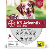 K9 Advantix II Topical Large Dog Flea & Tick Treatment