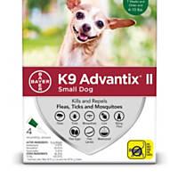 K9 Advantix II Topical Small Dog Flea & Tick Treatment