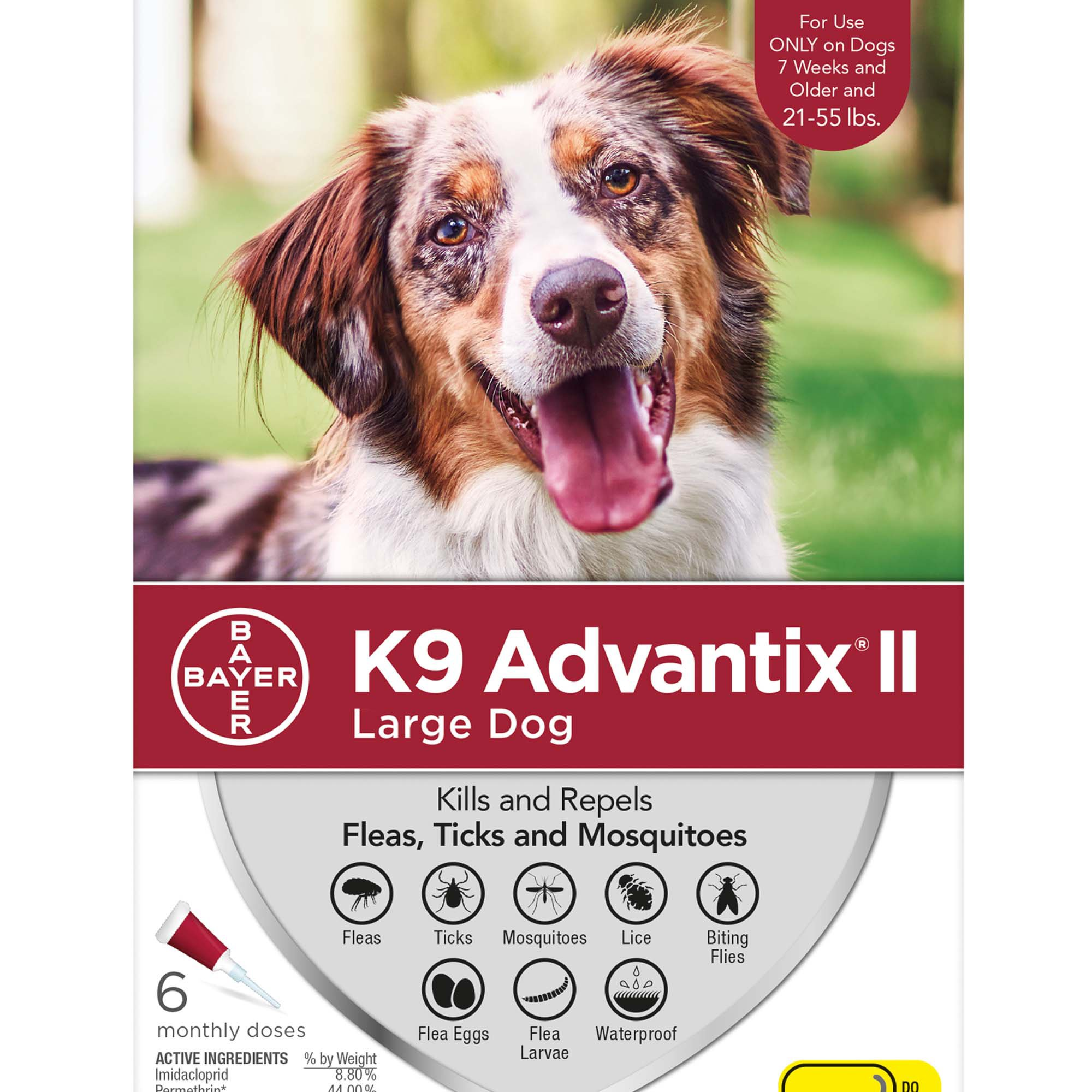 K Advantix Large Dog