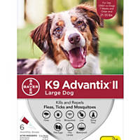 K9 Advantix II Topical Large Dog Flea & Tick Treatment