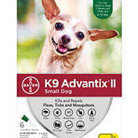 K9 Advantix II Topical Small Dog Flea & Tick Treatment