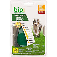 Bio Spot Active Care Flea & Tick Dog Spot On Applicator, Medium Dog