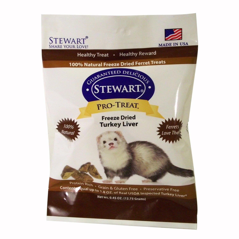 Stewart Pro-Treat Freeze Dried Turkey Liver Ferret Treats