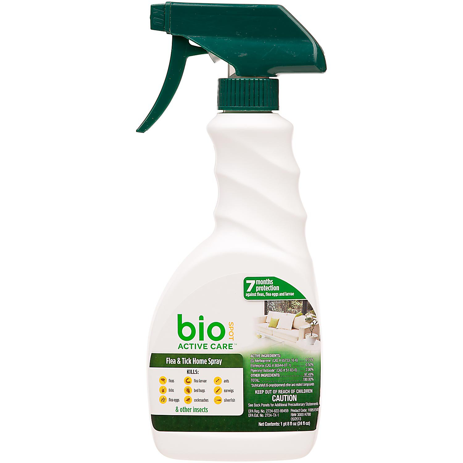 Bio Spot Active Care Flea & Tick Home Spray