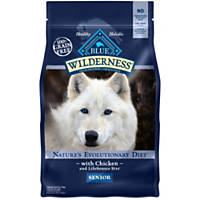 Blue Buffalo Wilderness Chicken Senior Dry Dog Food
