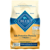 Blue Buffalo Small Breed Healthy Weight Chicken & Brown Rice Adult Dog Food