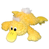 Patchwork Pet Platypus Yellow Pastel Dog Toy
