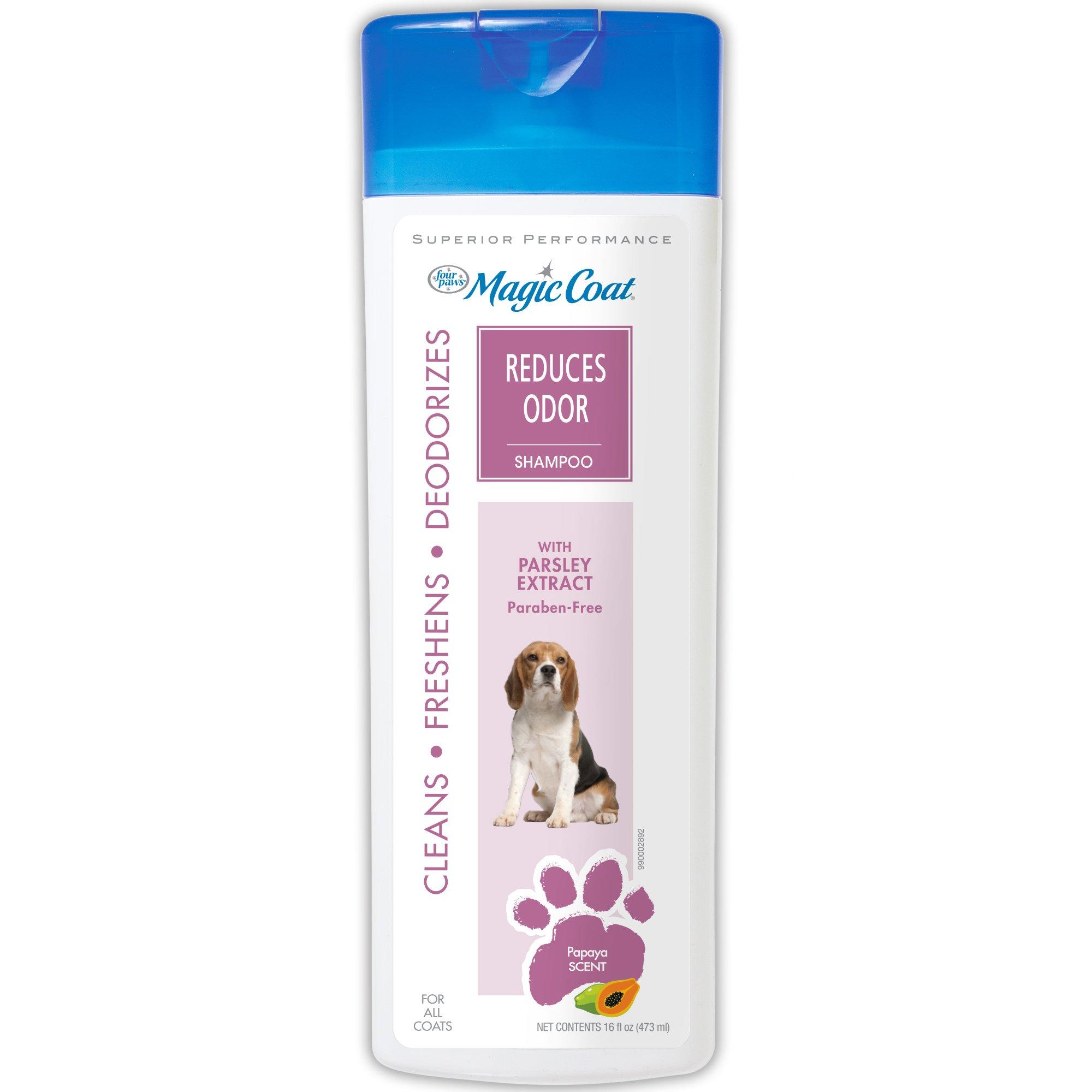 Four Paws Magic Coat Reduces Odor Dog Shampoo