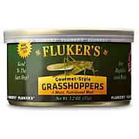 Fluker's Gourmet Style Grasshoppers Reptile Food