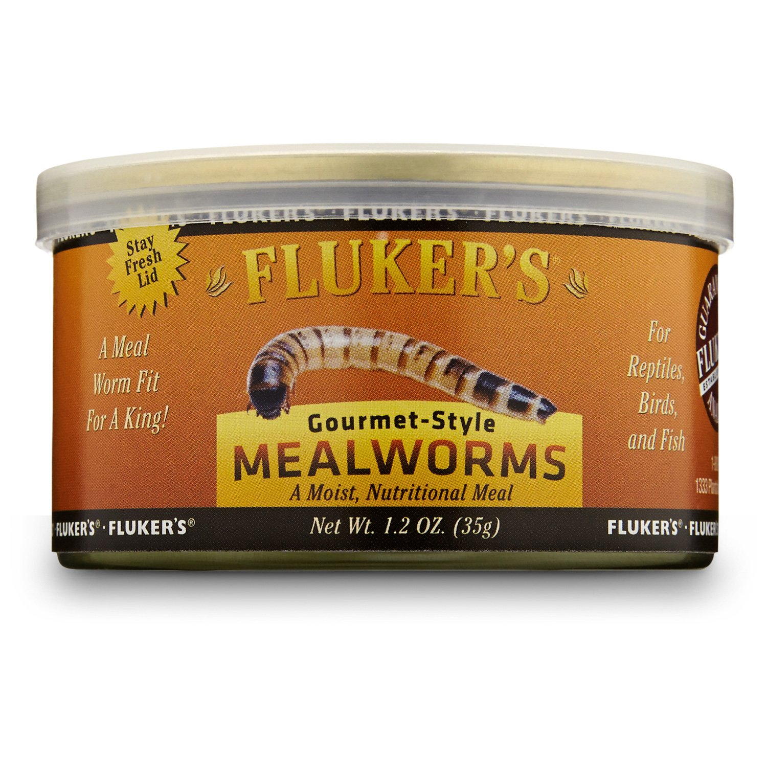 Fluker's Gourmet Style Mealworms Reptile Food