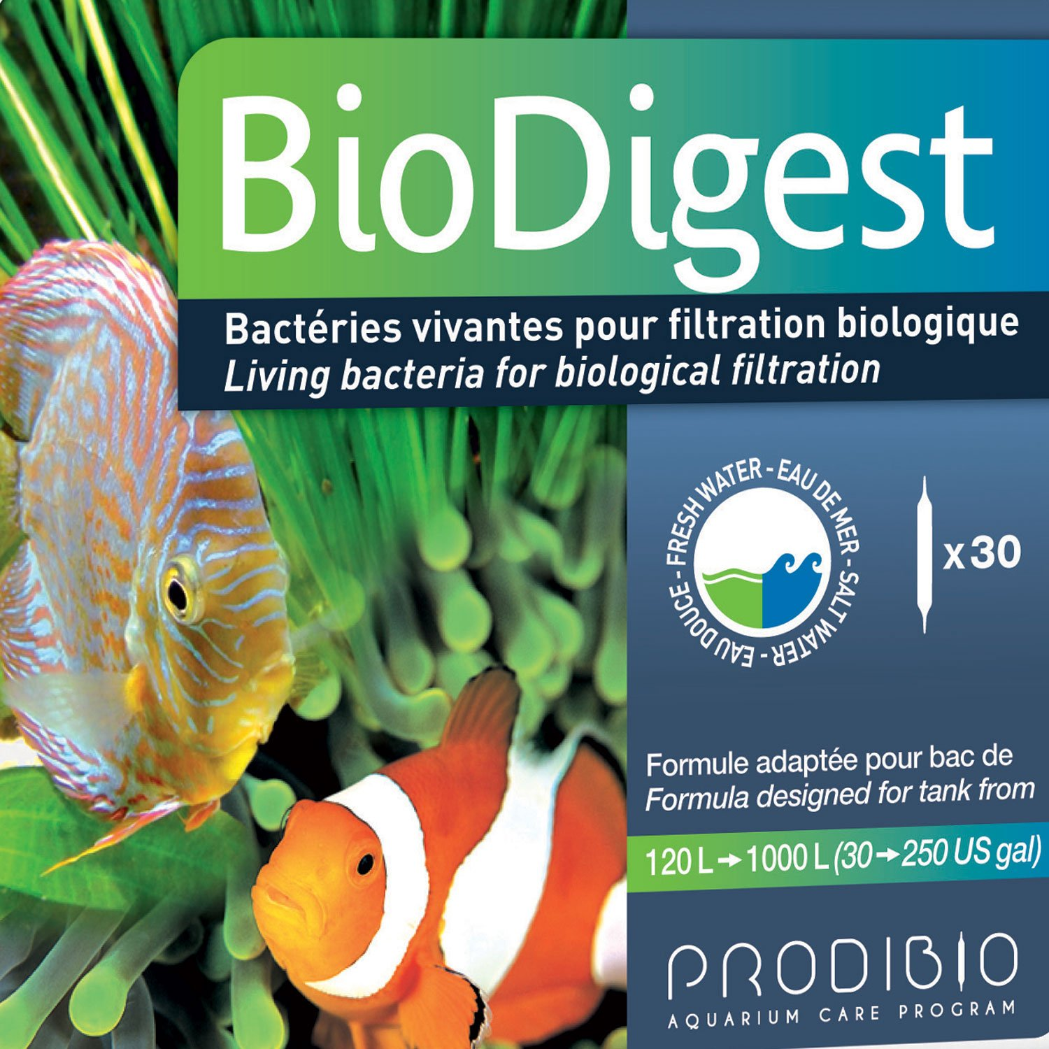 Hydor Prodibio Biodigest Freshwater & Marine Aquarium Supplement