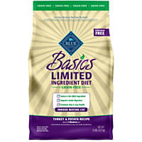 Blue Buffalo Basics Limited Ingredient Grain Free Turkey & Potato Indoor Mature Cat Food