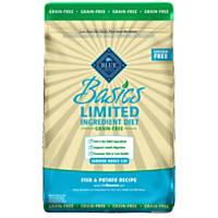 Blue Buffalo Basics Limited Ingredient Grain Free Fish & Potato Indoor Adult Cat Food