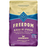 Blue Buffalo Freedom Grain Free Chicken Indoor Mature Cat Food