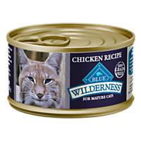 Blue Buffalo Wilderness Grain Free Mature Adult Chicken Canned Cat Food
