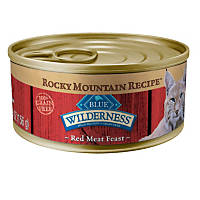 Blue Buffalo Wilderness Rocky Mountain Red Meat Adult Canned Cat Food