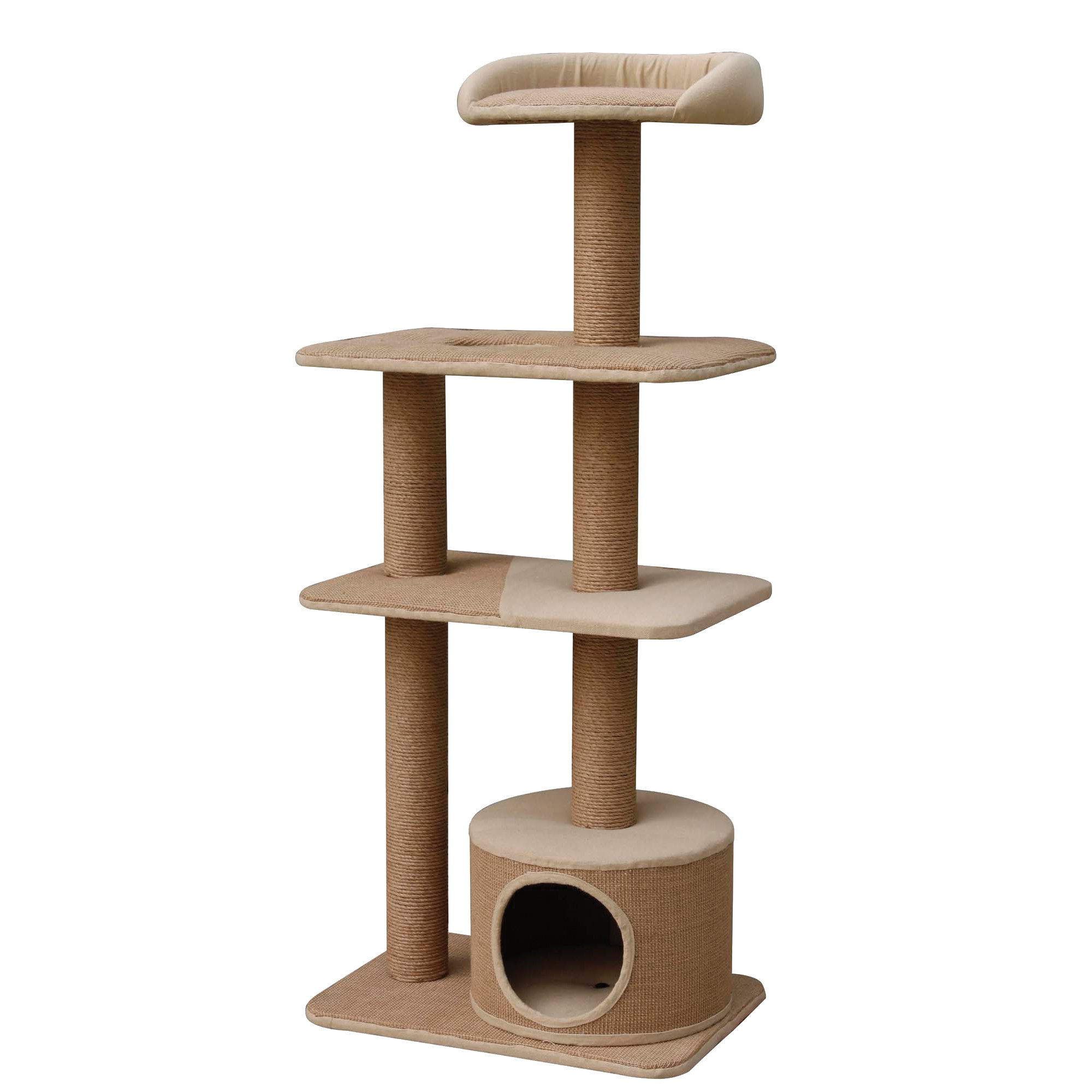 PetPals Group 4 Level Playhouse Condo Cat Tree