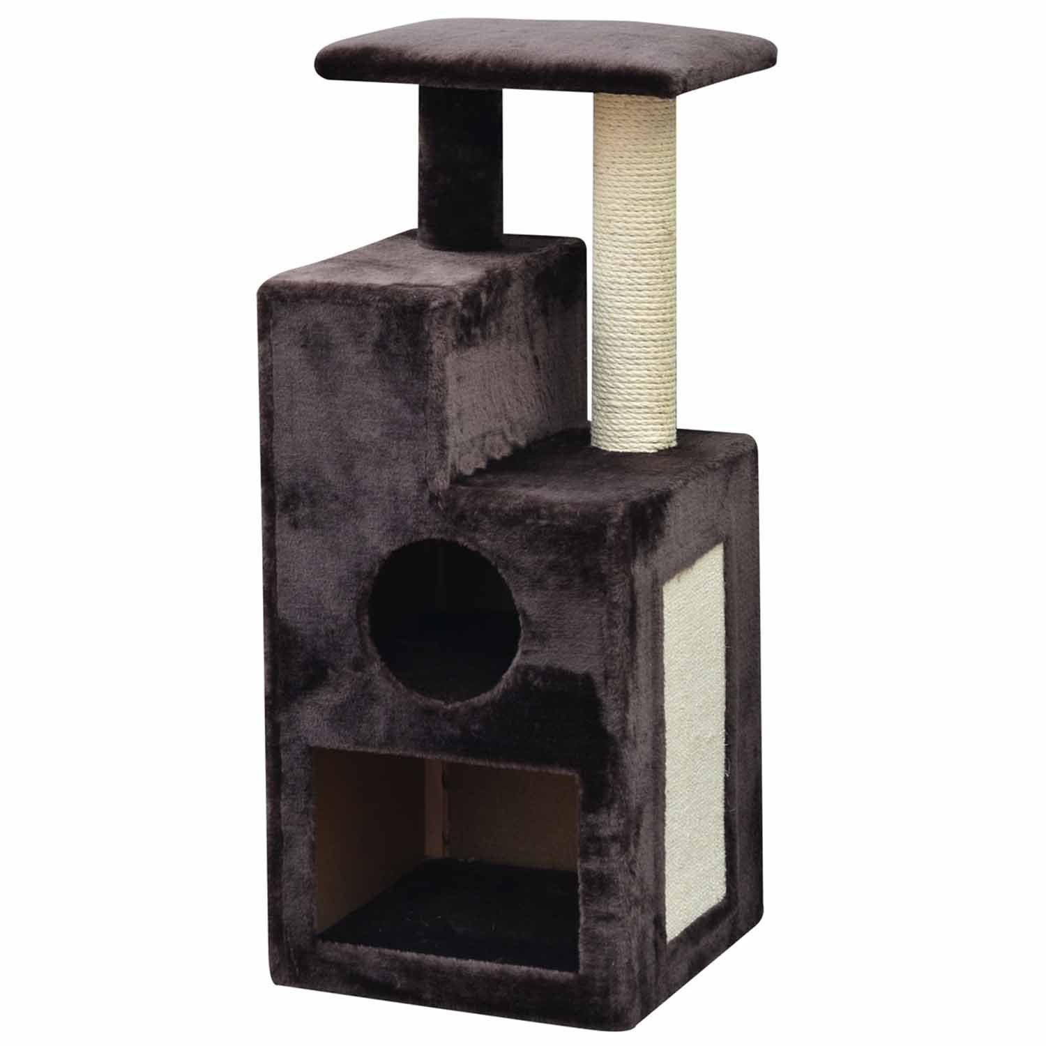PetPals Group Brown Abstract Cat Tree